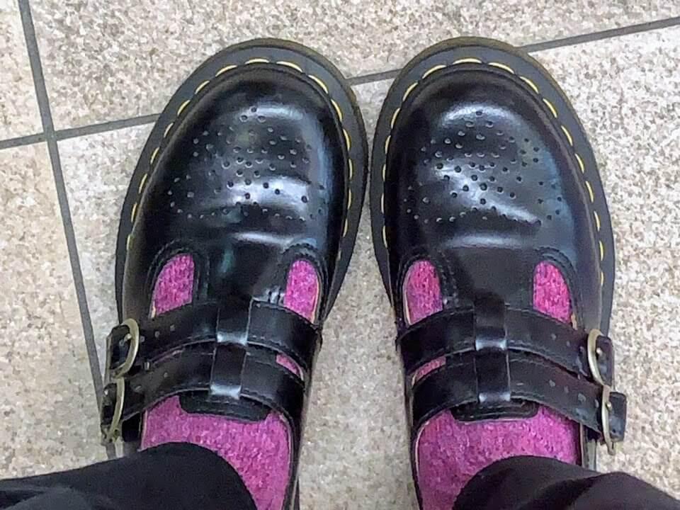 ドクターマーチン,靴