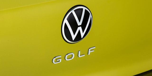 VWゴルフ8のバック,