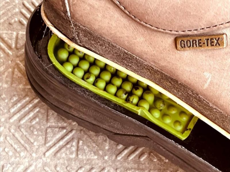 登山靴のソール修理