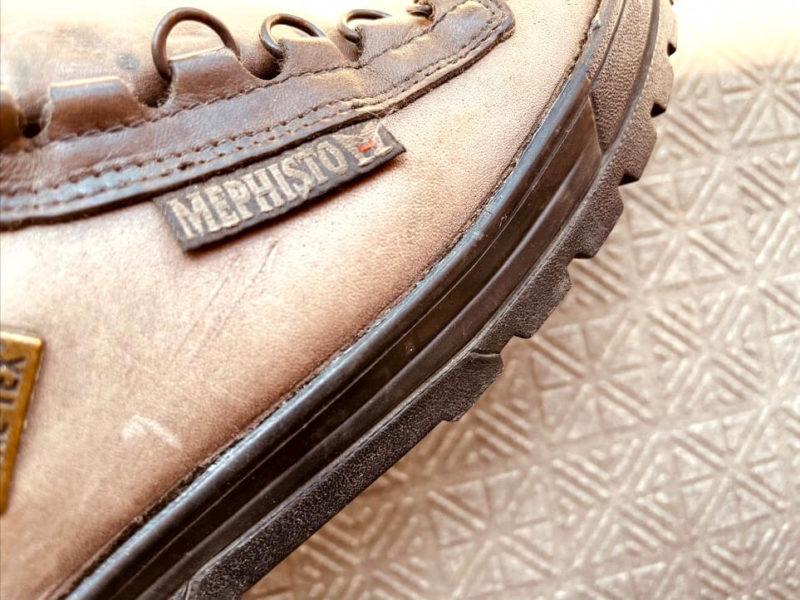 メフィストの登山靴