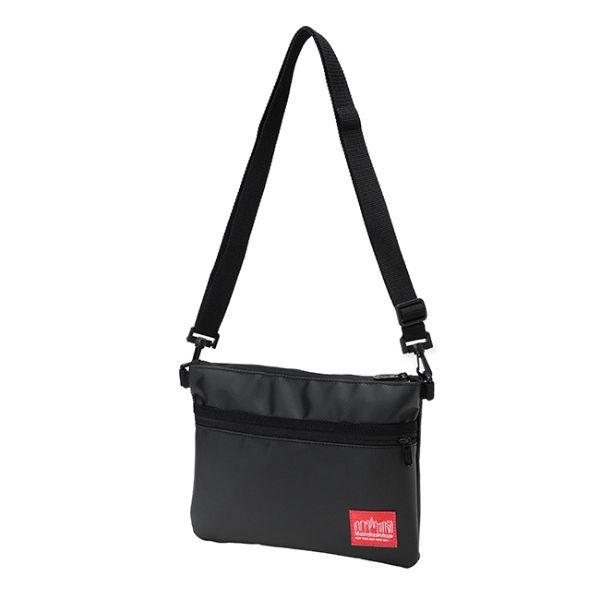 黒いマンハッタンポーテージのサコッシュバッグ