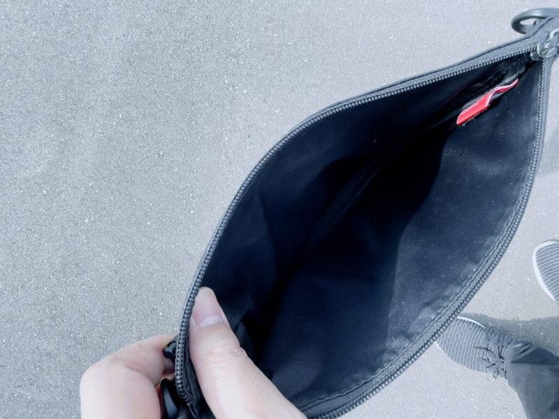 マンハッタンポーテージのバッグの内部