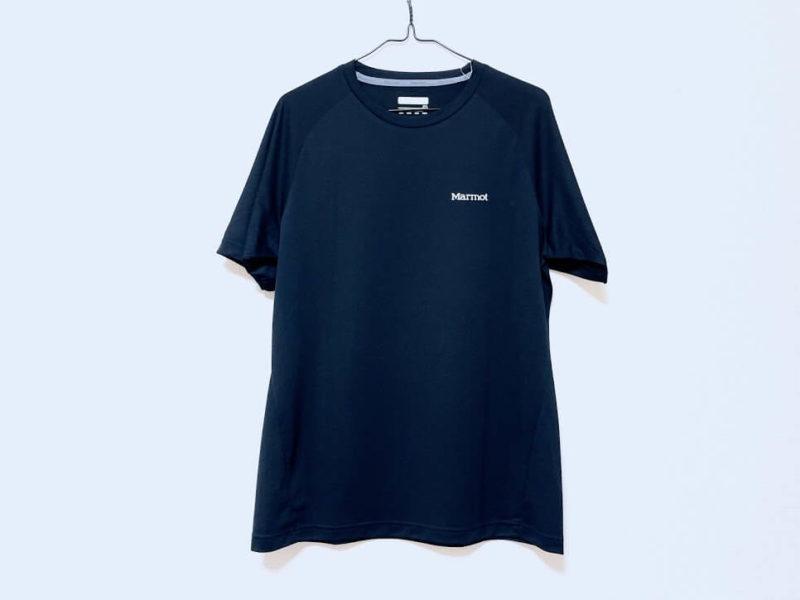 マーモットTシャツ「アセントハーフスリーブティー」